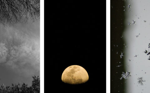 Last week - Digital photographs - A triptych on large print paper