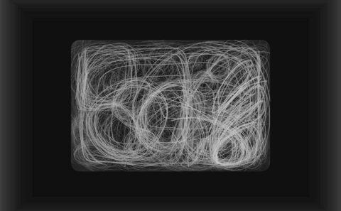 The beginning, gedigitaliseerde tekening. Patricia Smits